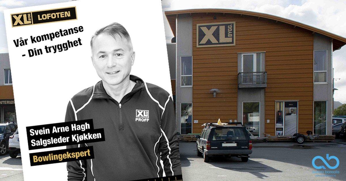 Facebook-filmer. Kampanje for XL-BYGG Lofoten