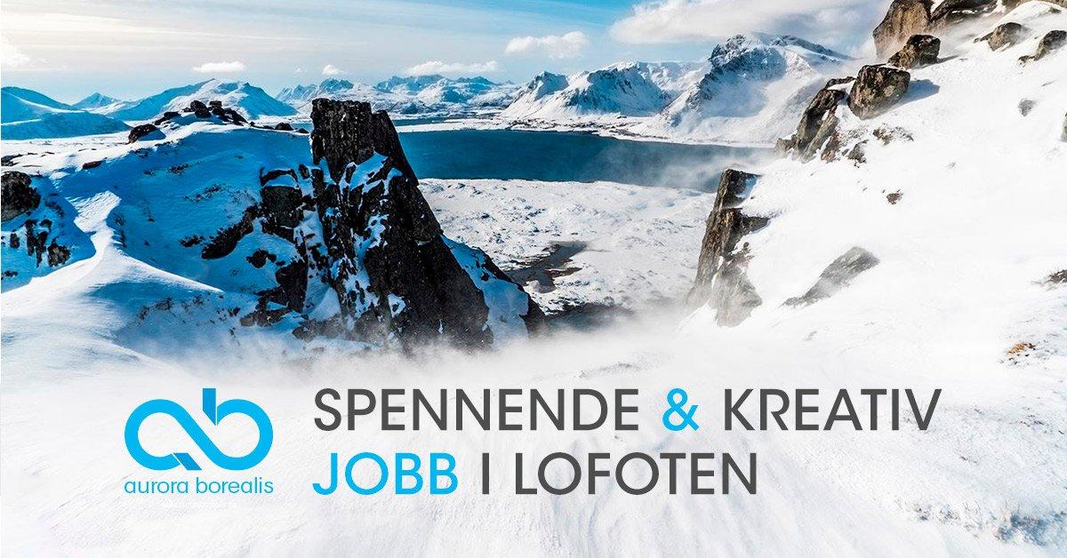 Spennende og kreativ jobb i Lofoten