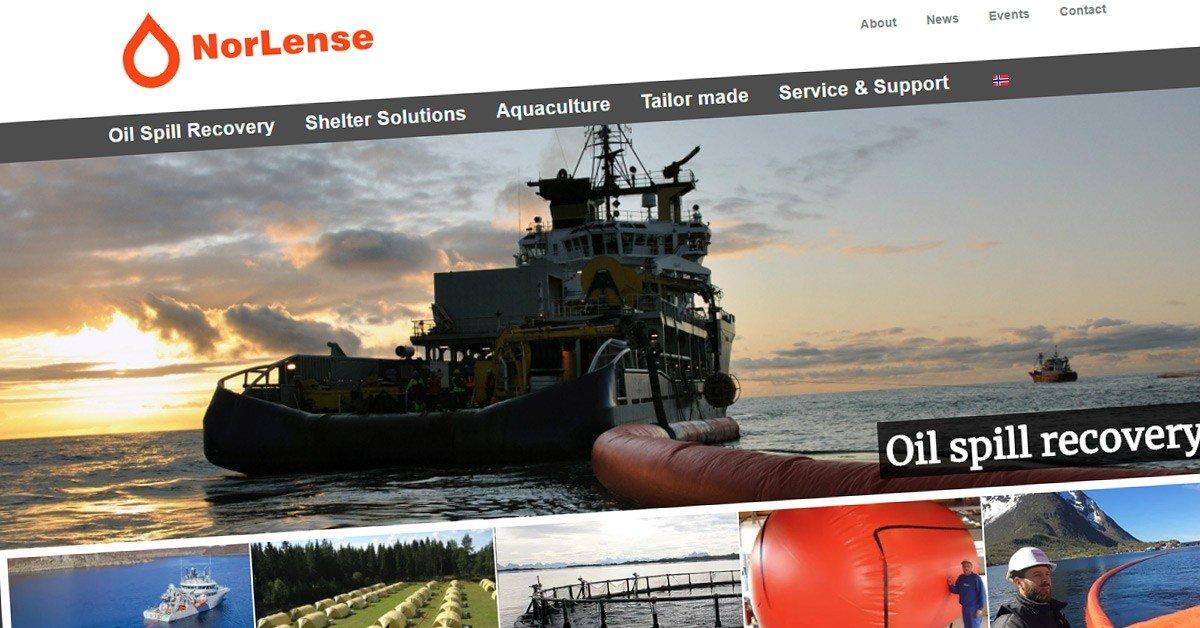 NorLense med ny nettside