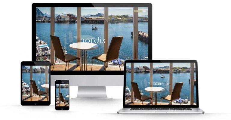 Wordpress responsiv nettside