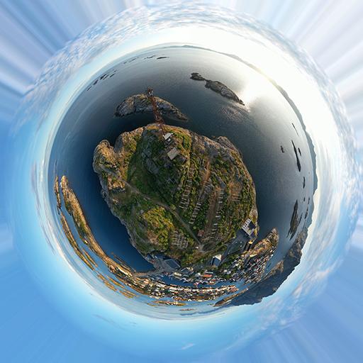 360 sperical panorama henningsvaer 01