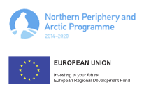 Logoer for Northern Periphery and Arctic Programme og European Union
