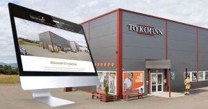 Aurora Borealis har designet og utviklet ny nettløsning for Trykkmann