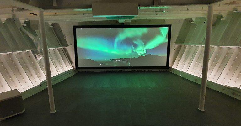 Kino i MS Finnmarken
