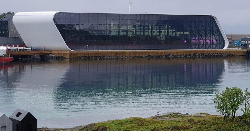 Hurtigrutens Hus på Stokmarknes